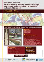 Interdisciplinary meeting on climate change and seismic hazards during the Holocene in the mediterranean